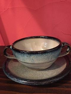 陶器スープカップやコーヒーに!