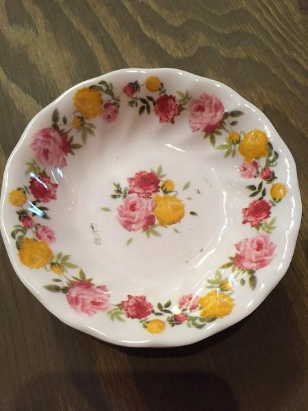 メラミン食器花柄バラピンク,小