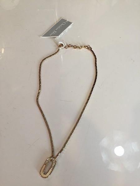 Christian Diorのネックレスデッドストック