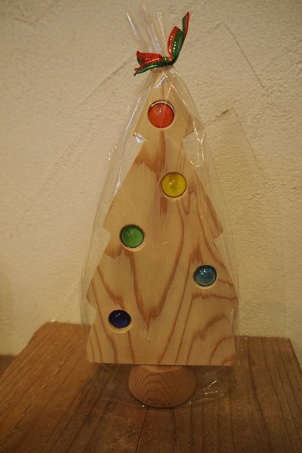 かわいい木のおもちゃクリスマスツリー小