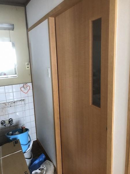 片引きトイレ