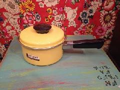 ホーロ片手鍋黄色