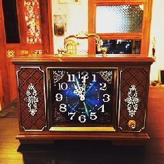 SEIKOレトロアンティーク手巻き置時計