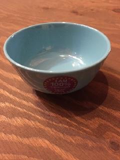 メラミン食器ブルーお椀小