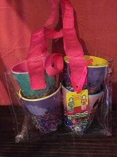 メラミン食器プレゼントBOXカップ4つセット