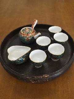 久谷焼き高級茶器セット