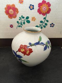 香蘭社の綺麗なつぼ
