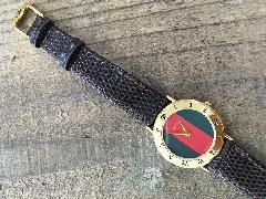 グッチ ビンテージ デッドストック時計
