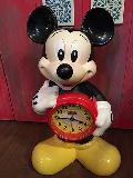 ミッキーマウスのビンテージ置時計