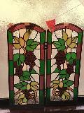かわいいブドウのステンドグラス
