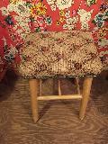 花柄レトロ椅子