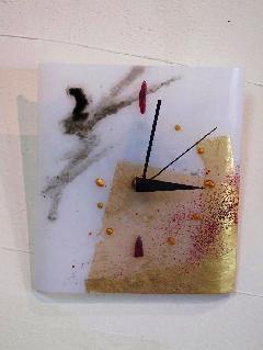 時計「花」