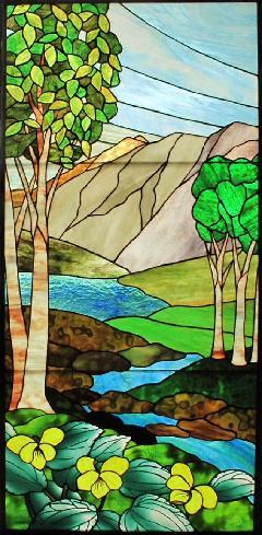 U邸「オオバキスミレの咲く風景」