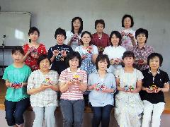 平地2区文化教養部 ガラス工芸体験 2012.6.23
