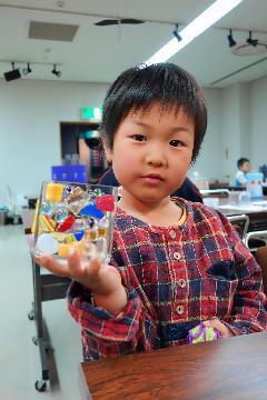 半田空の科学館 ガラス体験ー7
