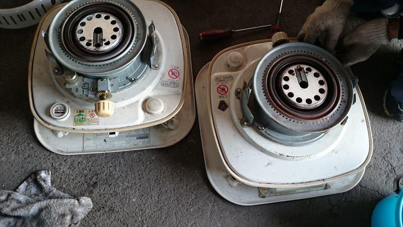 石油ストーブ修理