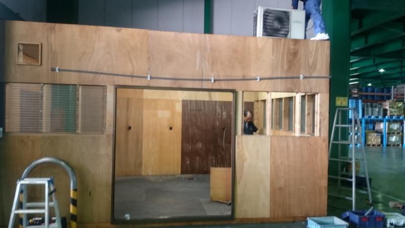仮設ハウス解体工事