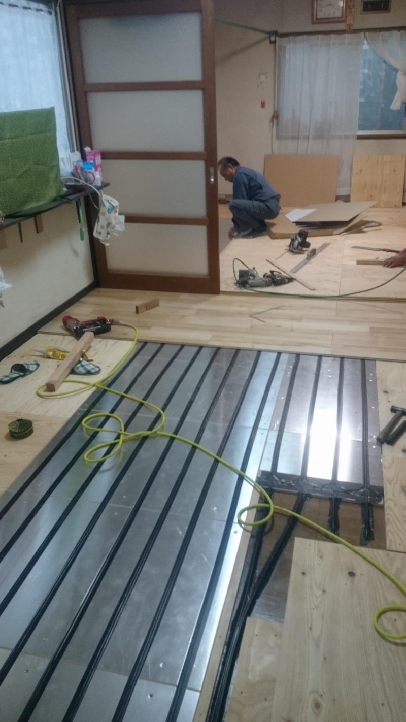 床暖房工事
