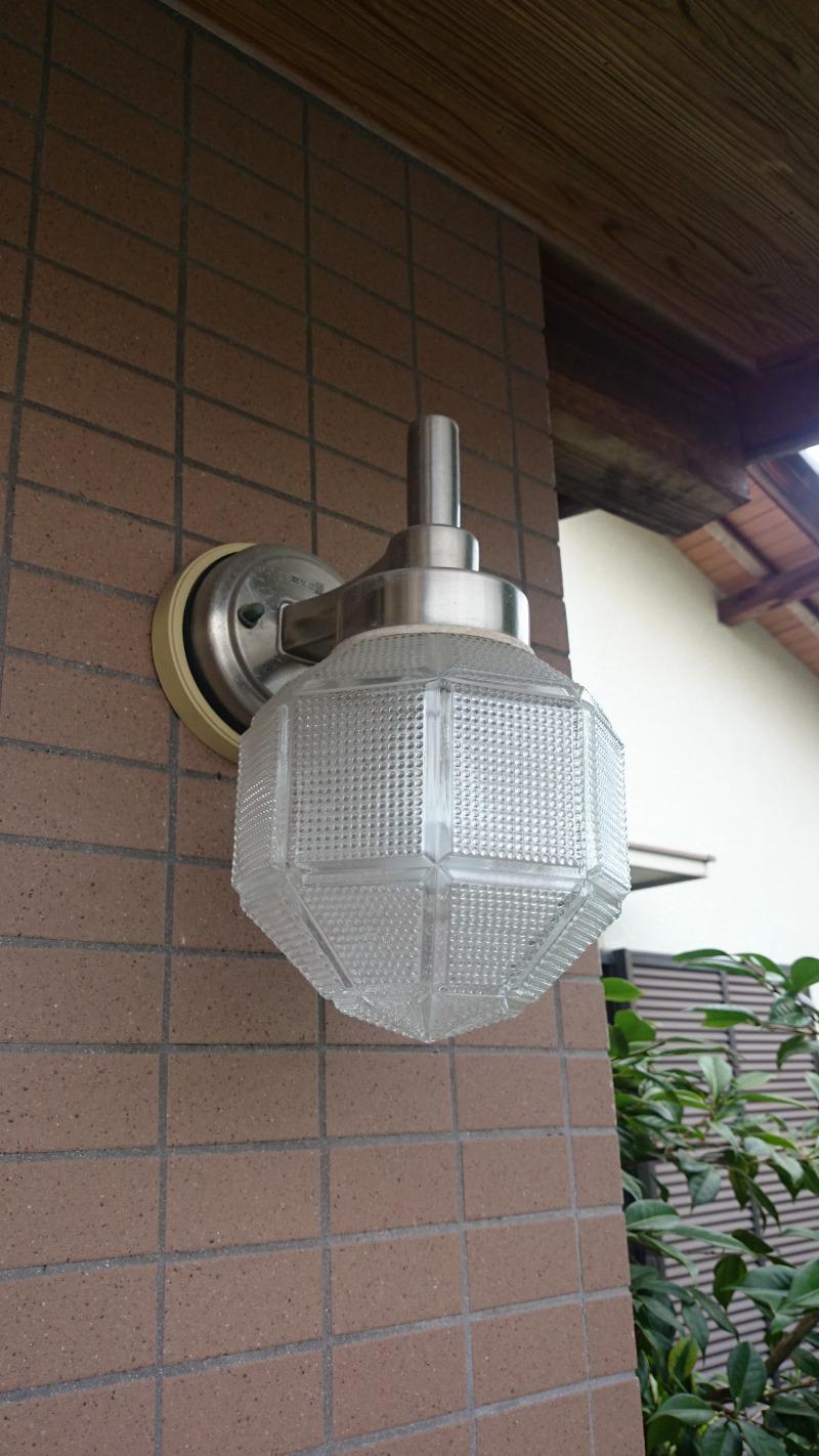 LEDポーチライト設置
