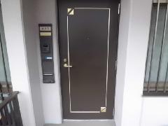 太宰府市 玄関ドア補修
