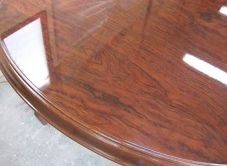 テーブル天板のコゲ修理