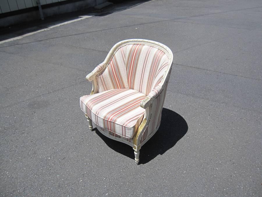 デザイン変更した椅子