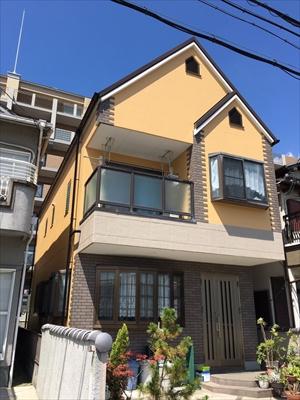 戸建住宅の塗替え施工後