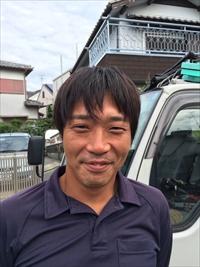仮設足場工事責任者 松田祥一