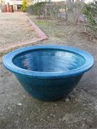 秀美作睡蓮鉢