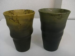 三代目 白山作 フリーカップ(藻掛け)
