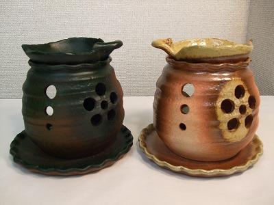 茶香炉(木の葉)