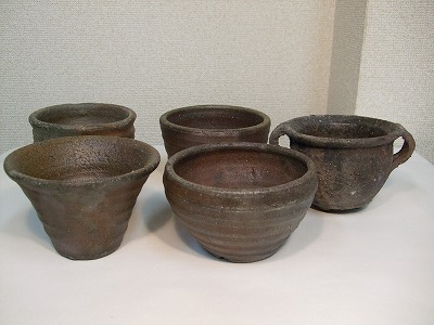 山草鉢(5点セット)