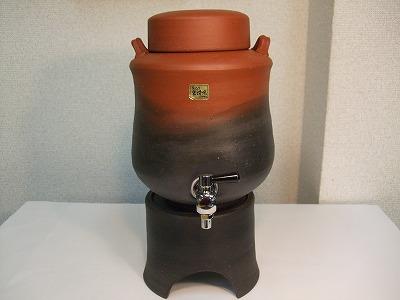 正弥作 焼酎サーバー(2.0L)朱泥窯変