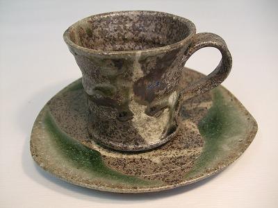 藤田徳太作 コーヒー碗皿