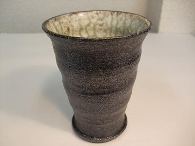 藤田徳太作 フリーカップ(黒)