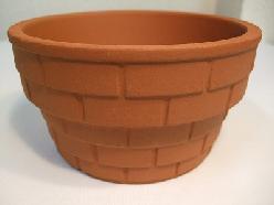 植木鉢茶ブロック調