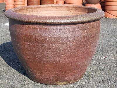 焼き締め植木鉢3-特大