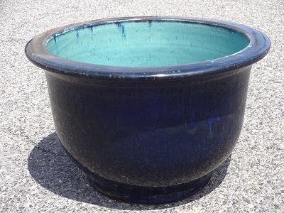 水鉢8【青釉】C