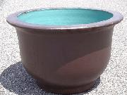 水鉢【黒釉】