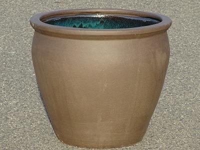 水鉢2【黒土】E