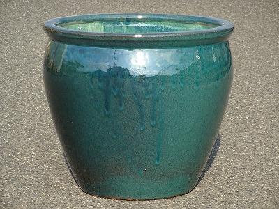 水鉢2【青釉】E