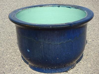 水鉢8【青釉】A