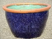 水鉢 青釉