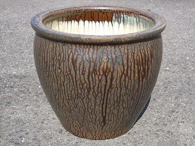 水鉢2【灰釉】E‐特
