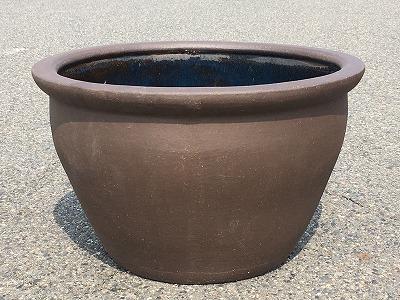 水鉢18【黒土】D