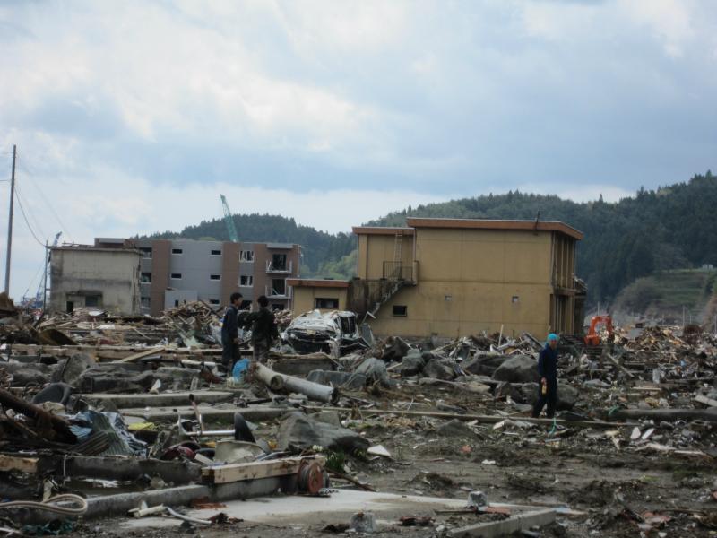震災ボランティア