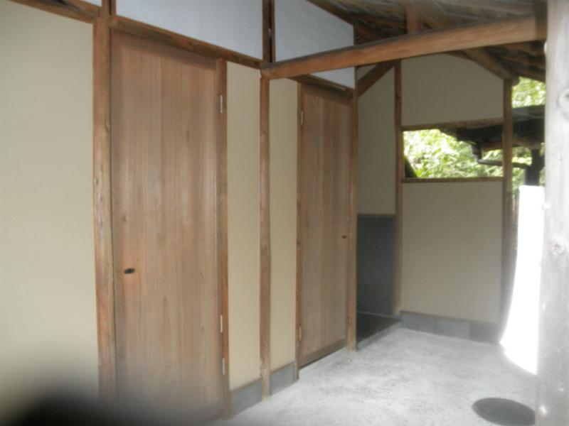 寺院 トイレ改修