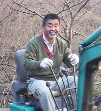 京都楓雅舎の舎主(親方)佐藤耕吉