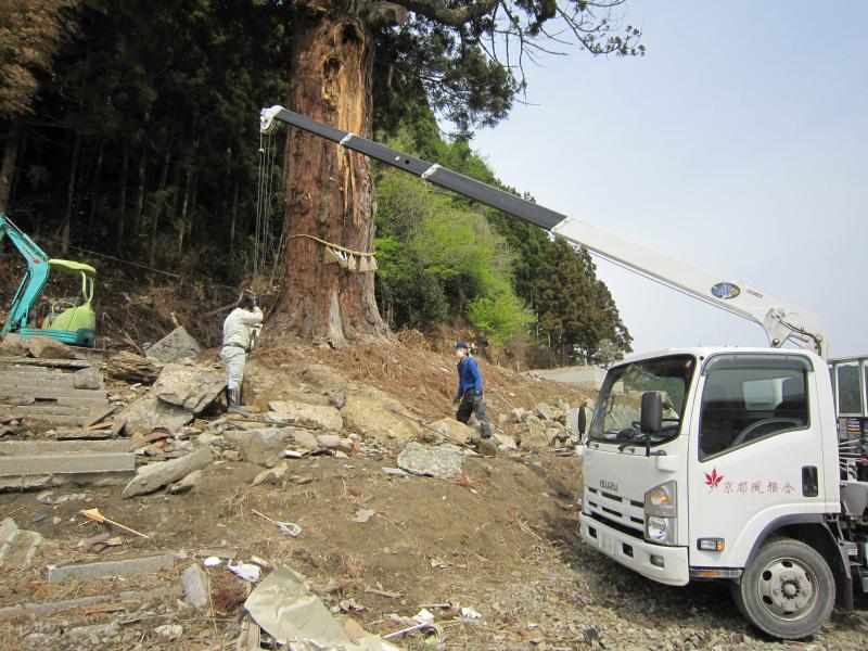 震災ボランティア活動