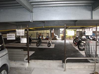 駐輪場舗装工事